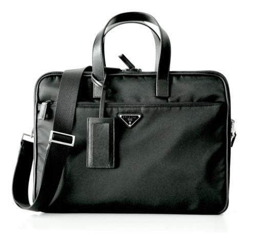 PRADA Borsa Da Lavoro Briefcase Carry-On Luggage Nylon 2VE407 NWT