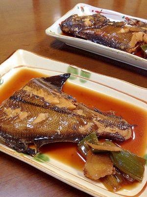 赤カレイの煮付け レシピ・作り方 by tukuyo93 楽天レシピ