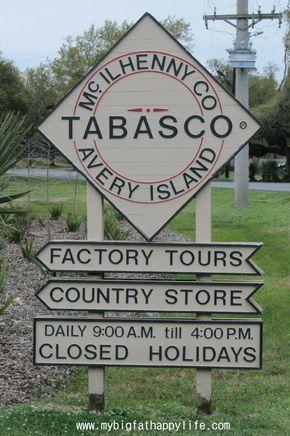 Avery Island: Tabasco Factory and Jungle Gardens in Louisiana   mybigfathappylife.com