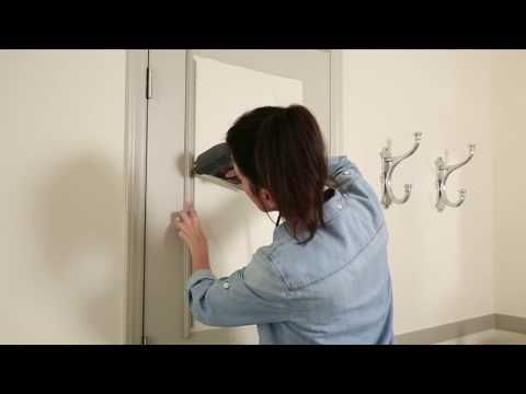 How To Paint A Plain Interior Door - Ace Hardware - YouTube