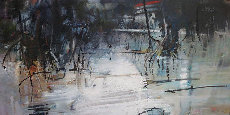 Pam Walpole Mangrove margins 1500mm x 750mm