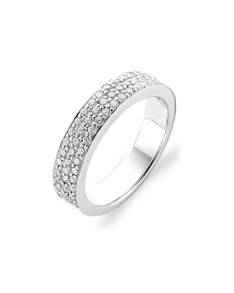 Ti Sento 1401 White Zirconia Ring Available at: www.always-forever.com
