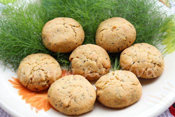 μικρή κουζίνα: Αλμυρά μπισκότα με μάραθο και σπόρους τσία