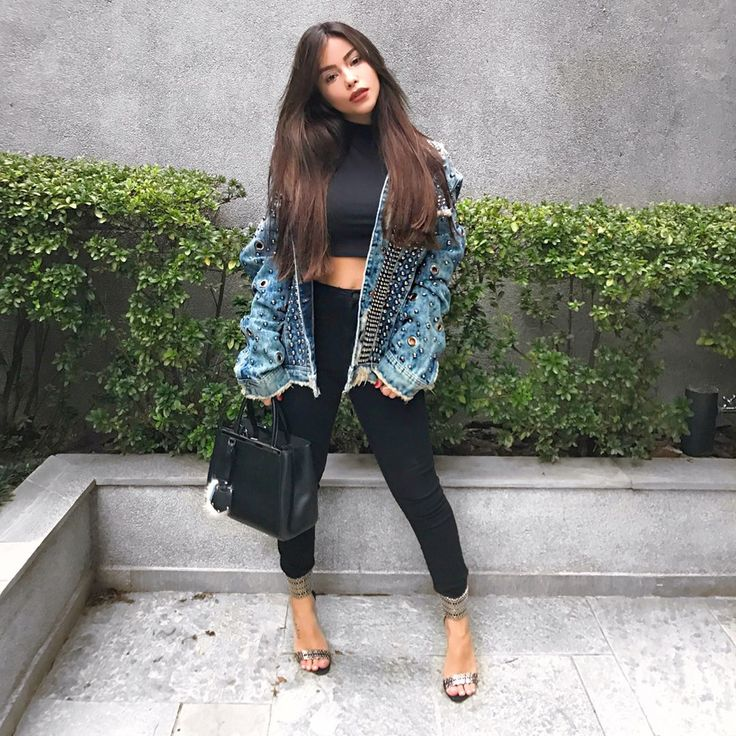 Instagram A, Girl Style, Ootd, Street Styles, Jacket, Ps, Women's Fashion,  Baddies, Tumblers