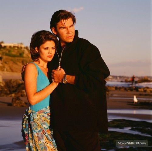 Sunset Beach promo shot of Susan Ward & Clive Robertson