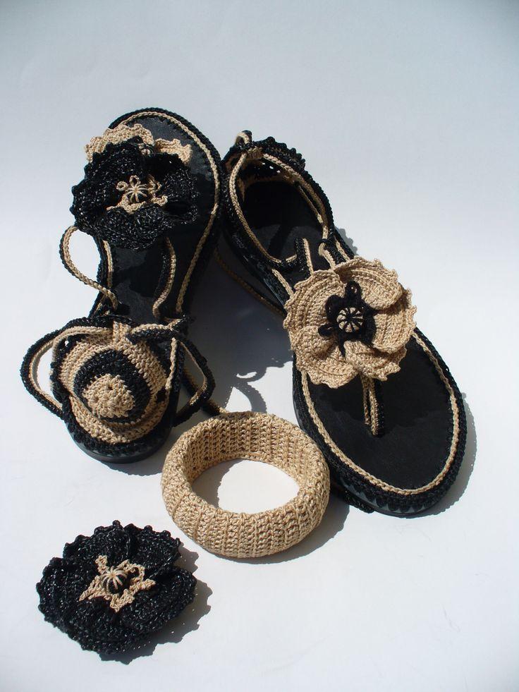 Lujoso Los Patrones De Crochet Libre Para Botas Zapatilla Galería ...