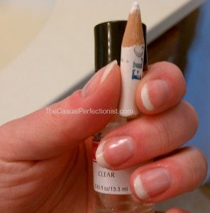DIY French Manicure. Awesome, and so easy!!!