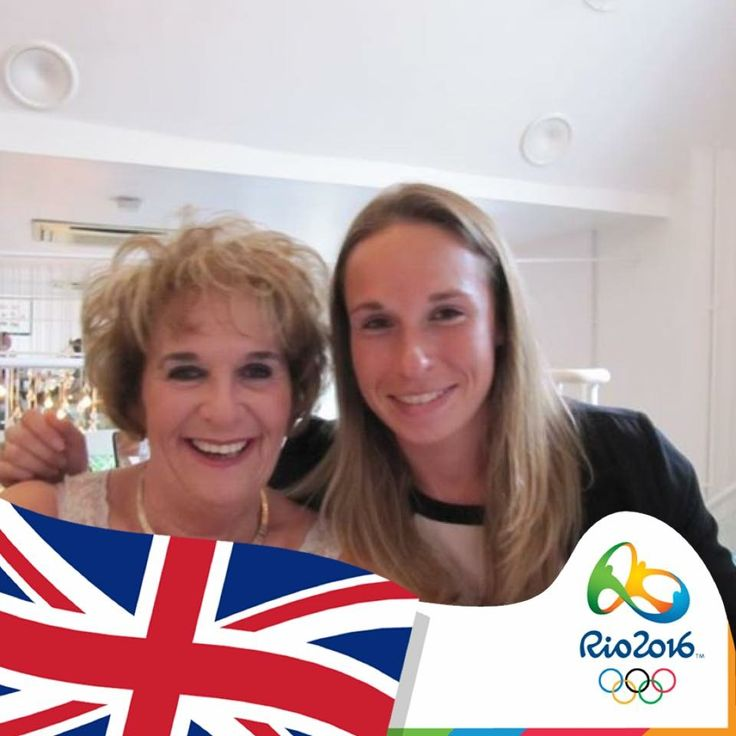 Me and my Granddaughter who is in Rio playing Hockey for team UK
