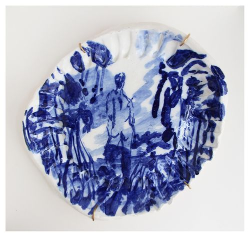 'While We Were Lost 1'   Glazed Ceramic   R 4 600   Reserved