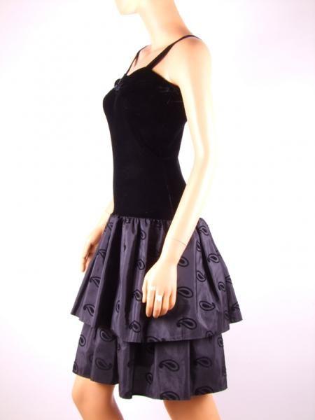 Vestido de coctail vintage, 80´s, Vintage coktail dress, Robe retro, Vintage fashion, Retro fashion