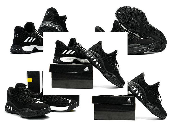 reputable site 7fe49 4df5e Mode adidas Crazy Explosive Low Andrew Wiggins AW Black Noir Anthracite  White blanc Core Black Noir   adidas Crazy Explosive   Pinterest   Adidas,  Shoes and ...