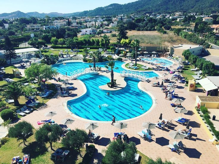 An amazing view from my room @ Electra Palace Hotel. 🇬🇷 #hotel #electrapalacerhodes #greece #rhodes #island #Greece #fun #pool #holiday