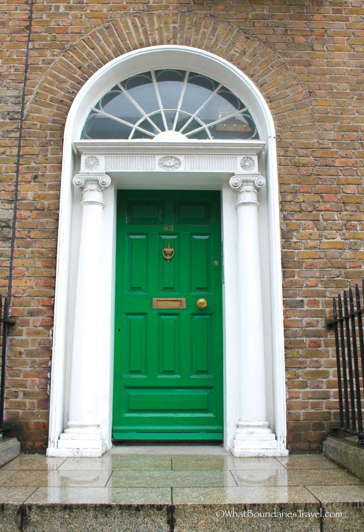 Green Dublin Door & 118 best Dublin Doors images on Pinterest | The doors Windows and ...