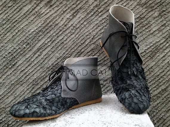 Check out this item in my Etsy shop https://www.etsy.com/uk/listing/253058519/fishskin-boots