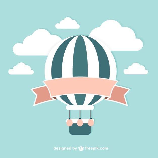 Vector balão do vintage Vetor grátis