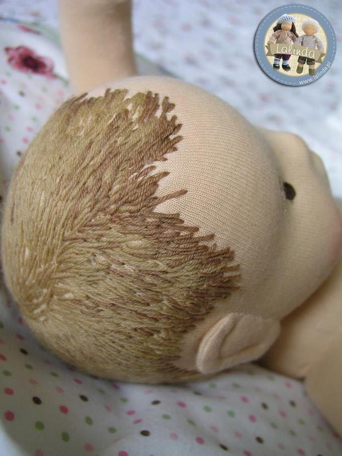 Lalinda~ incredible embroidered hair!