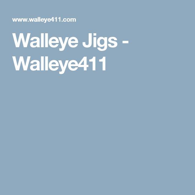 Walleye Jigs - Walleye411