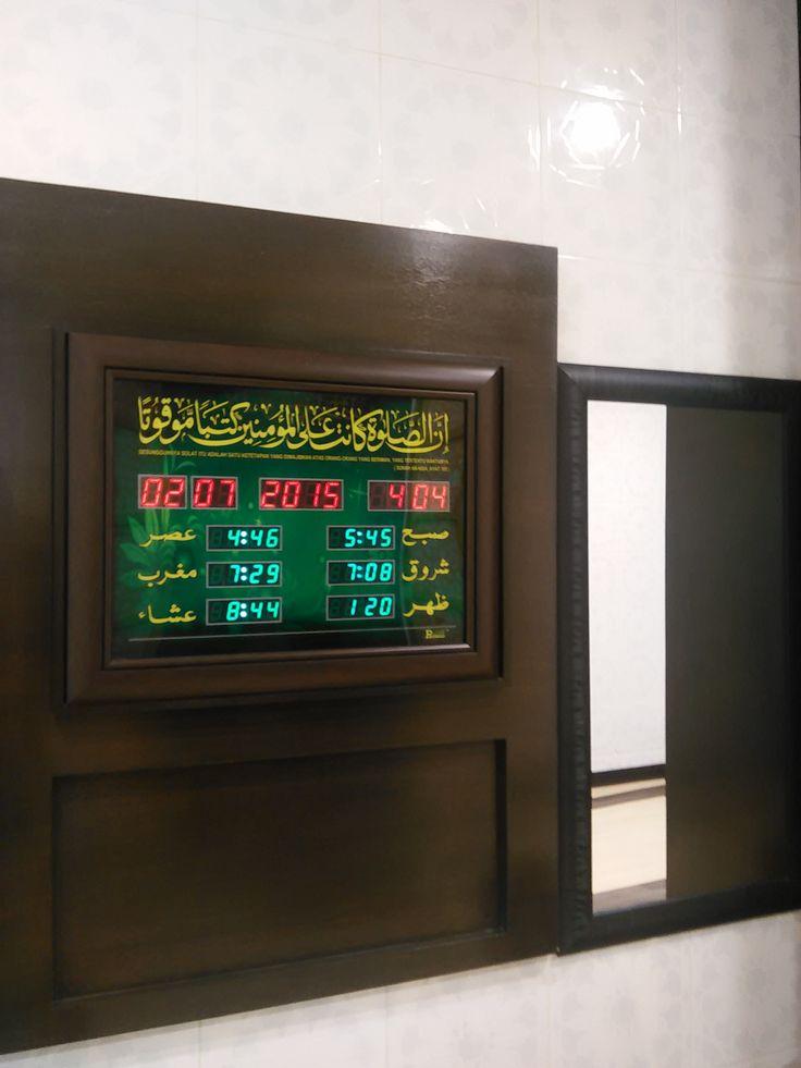 digital board of prayer times