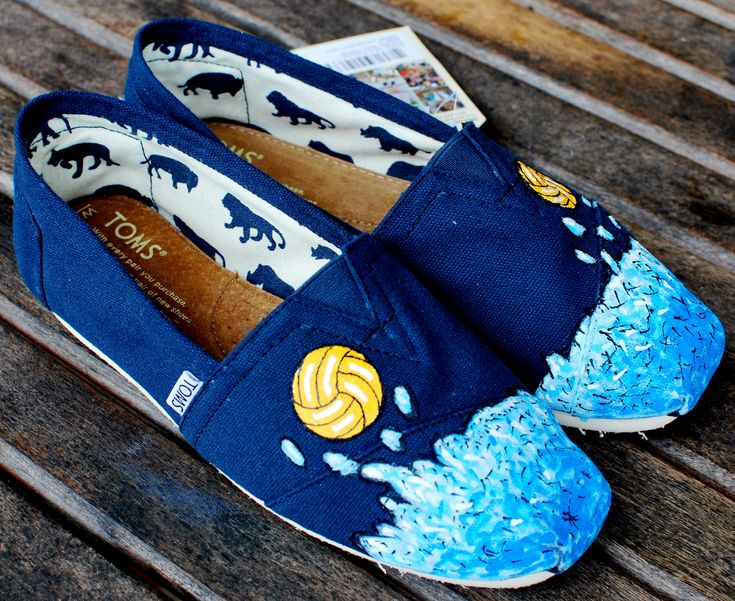 Water Polo TOMS shoes for Fi #toms #shoes #waterpolo