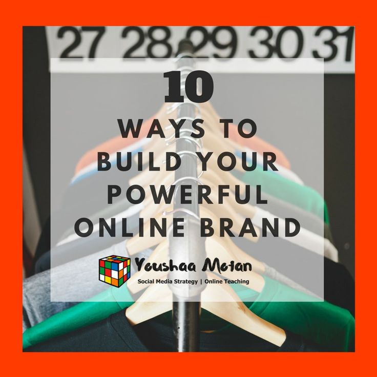 "How to Build an online Brand: 10 proven steps to stardom.  Keep an eye out for ""The Digital Brandings schools micro-courses and master-classes!"" 1. Get to know your customers - Demographics & use analytics. 2. Know your brand mission-statement. 3. Conceive & explain your brands story & background. 4. Get clear on your brand equity. 5. Discover your unique & authentic brand voice. 6. Galvanise a consistent brand experience-day in and day out.. 7. Brainstorm a brand design that wows. 8…"
