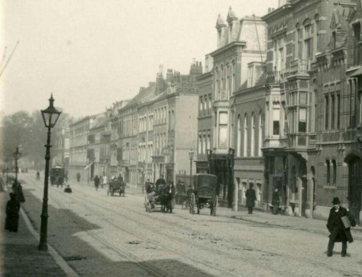 Parkstraat, gezien naar de Mauritskade..1905..