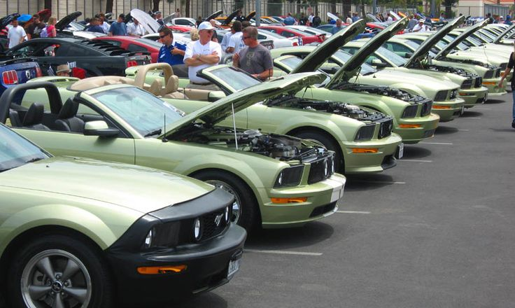 Color choices for a 5th gen (2005-2009) Mustang GT convertible
