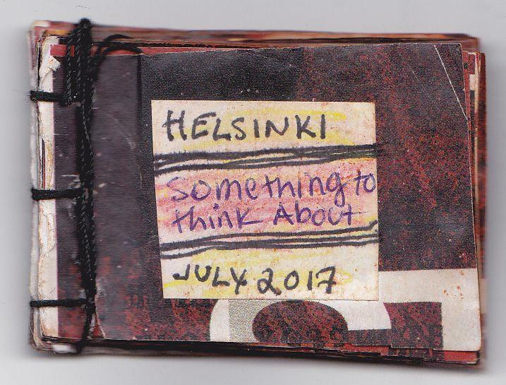 Two original zines by Tiina from Finland to Josh Ronsen http://www.tiinafromfinland.com/mail-art/351/ #mailart #zines #tinyartproject