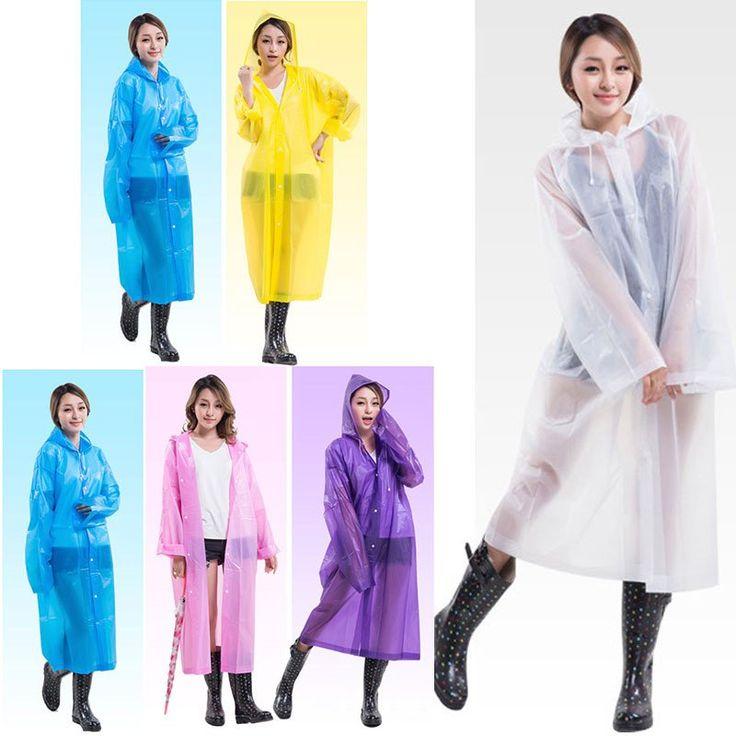 Fashionable Transparent Poncho Raincoat - Big Star Trading Store
