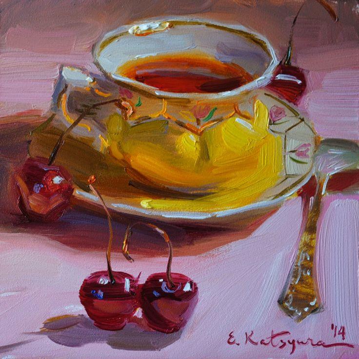 Elena Katsyura - Tea & Cherries