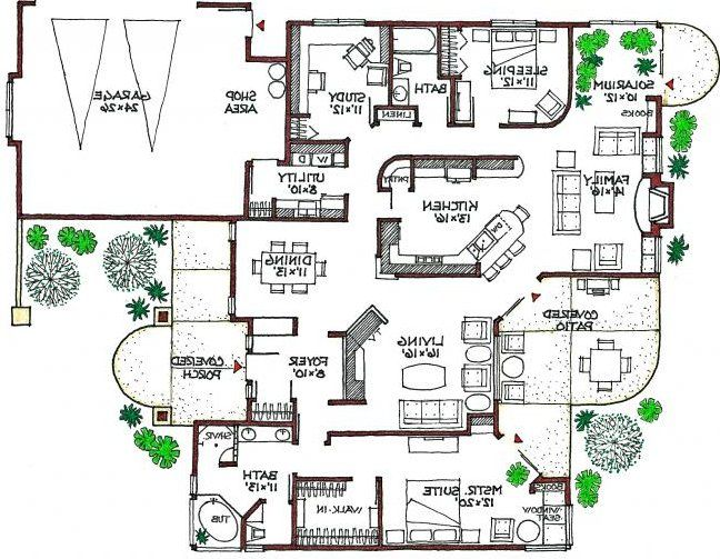3 Bedroom 2 Bath Contemporary House Plan Alp 07xf Allplans