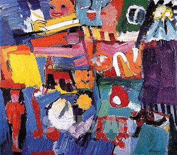 Grace Hartigan  was an American Abstract Expressionist painter of the New York…