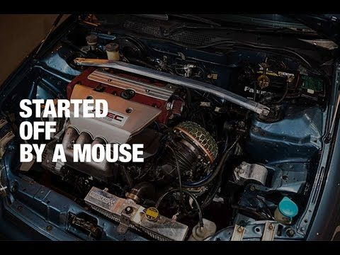 Honda Civic Sr3/EG6 - Started Off by a Mouse // BTS - YouTube