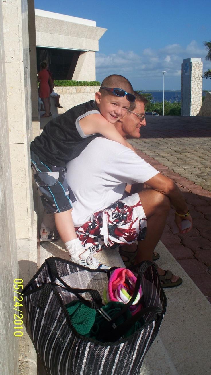 Grandpa and Damian
