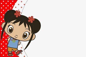 Ni Hao Kai Lan: Invitaciones para Imprimir Gratis.