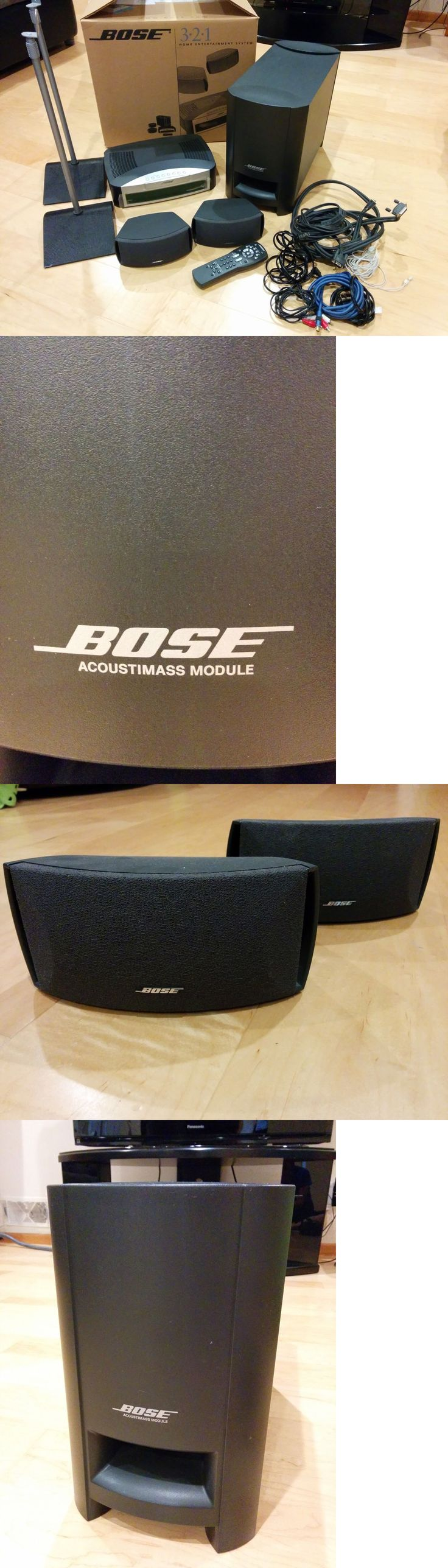 Bose soundtouch 130 home theater system black 738484 1100 b amp h - Home Theater Systems Bose 3 2 1 Series Dvd Home Entertainment System