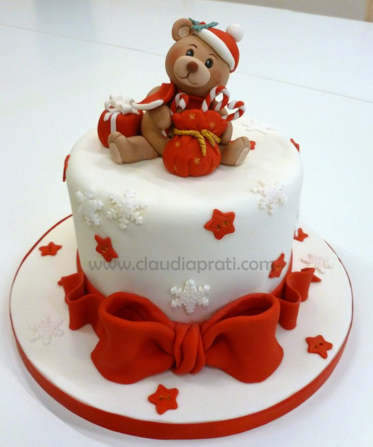Christmas Cake Decoration Ideas Pinterest : 1665 best Christmas Cakes images on Pinterest Christmas ...