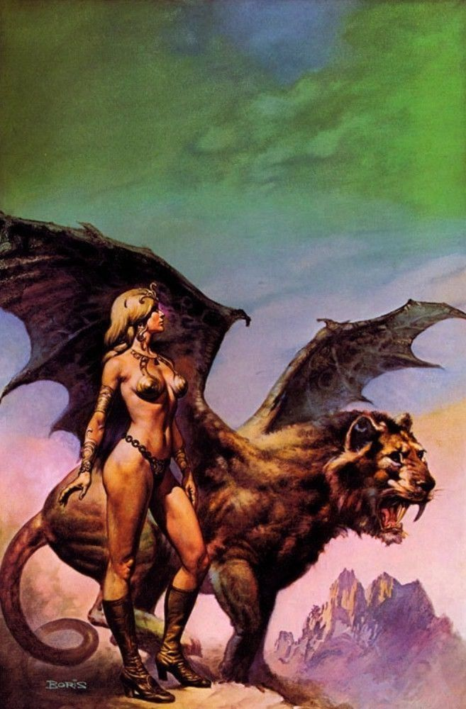 Boris Vallejo – The High Couch of Silistra