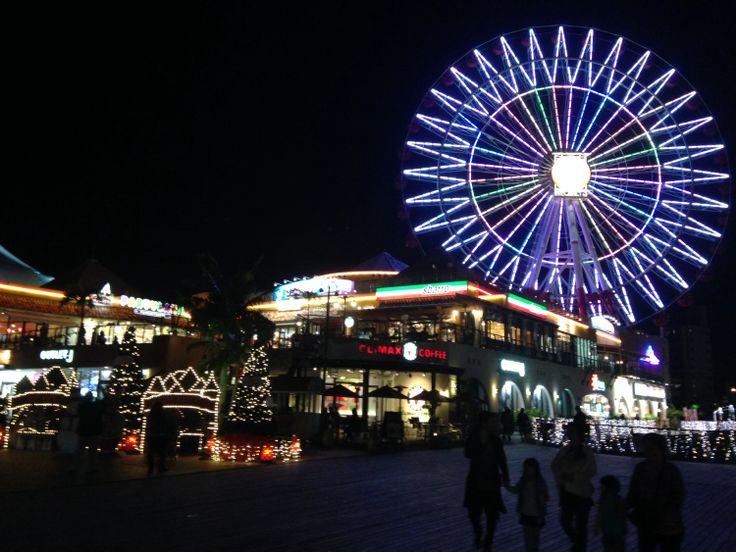 Okinawa during Christmas time
