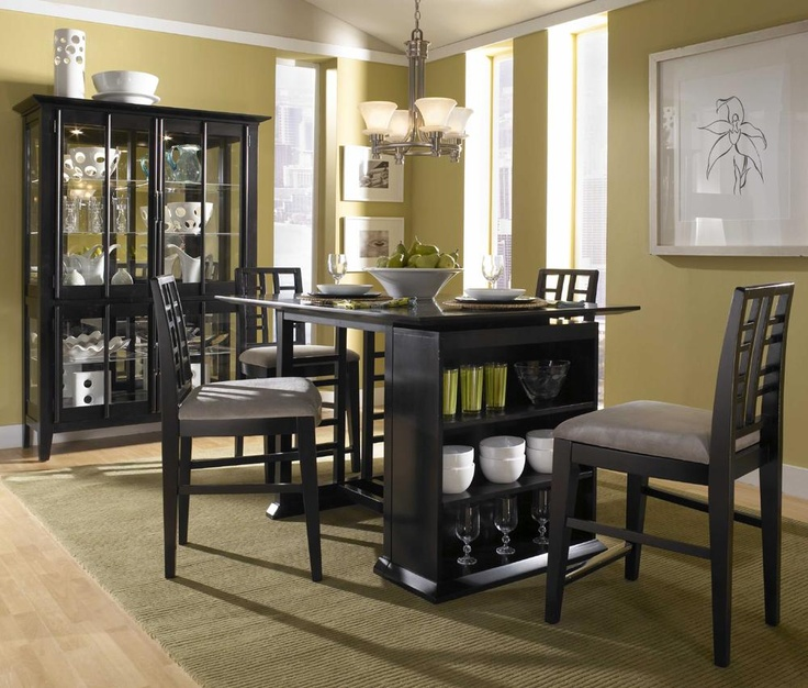 Dining Room Sets Baton Rouge Part - 37: Perspectives Storage Counter Height Table U0026 Stools By Broyhill Furniture -  Olindeu0027s Furniture - Pub Table And Stool Set Baton Rouge And Lafayette,  Louisiana
