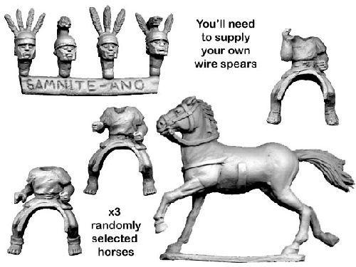 Unarmoured Oscan Cavalry