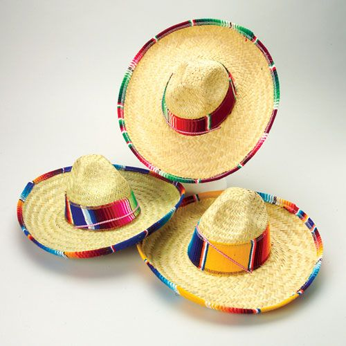 mexican fiesta party decorations | Hats & Costumes (12)