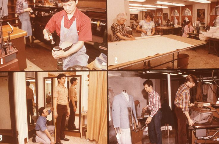 1)Members of the family have their shoes repaired by a fully equipped shoe shop; 2)There is also a sewing room where curtains, drapes, and so forth, are made for Bethel rooms and offices; 3)An alteration shop adjusts clothing to proper size for members of the family; 4)Dry cleaning is also offered. 1982