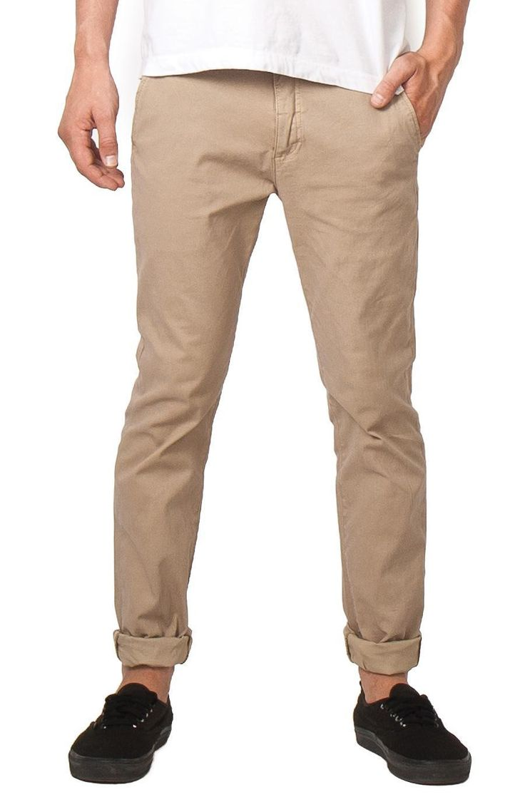 ZIGGY DENIM - Pins & Needles Chino Feltz Khaki By Ziggy