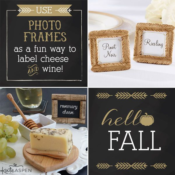 Fall entertaining ideas from kate aspen dinner party for Ideas for hostess gifts for dinner party