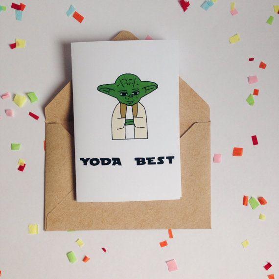 Best 25 Dad Birthday Cards Ideas On Pinterest: Best 25+ Yoda Card Ideas On Pinterest