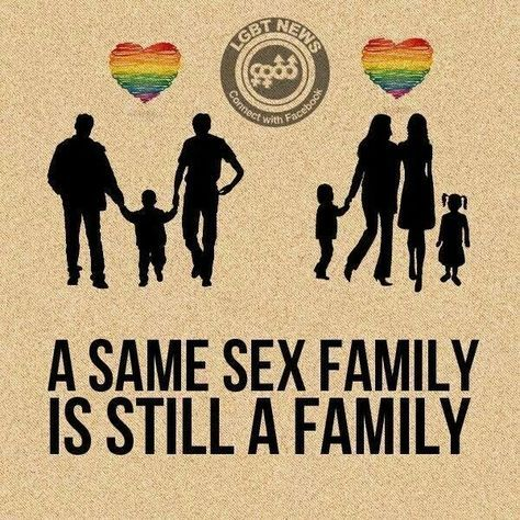 from Hunter family gay pride
