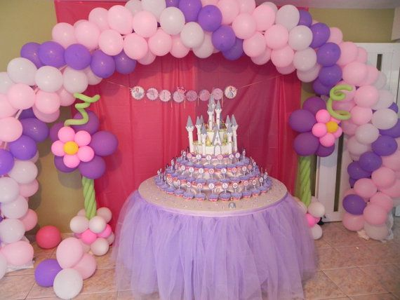 Tulle Tutu Table Skirt Head Table Party Table Custom Made You Pick Colors