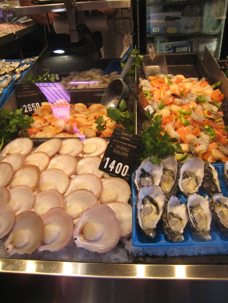 Love the seafood selection....