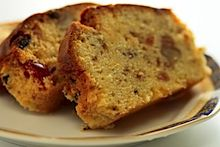 Traditional English Pound Cake with Fruit (and other Traditional British Desserts)