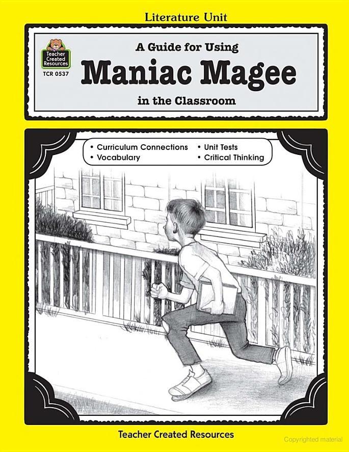 Maniac Magee - Michael Levin - Google Books